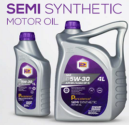 Perennial Engine Oil SEMI Fully Synthetic 5W30 4L